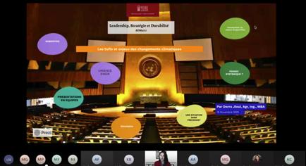 UN simulation online platform