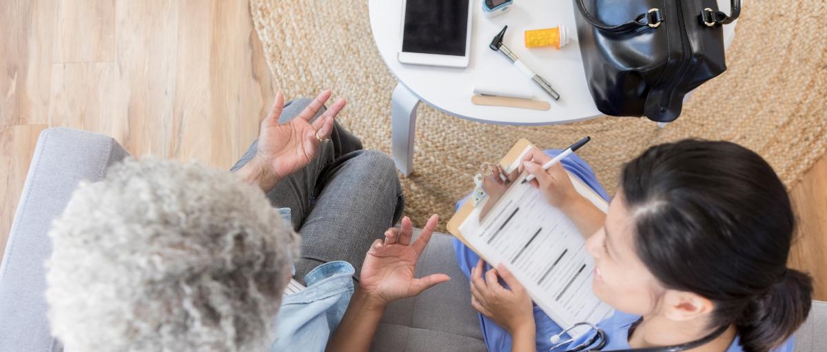 Improving digital technology uptake in senior health care organizations