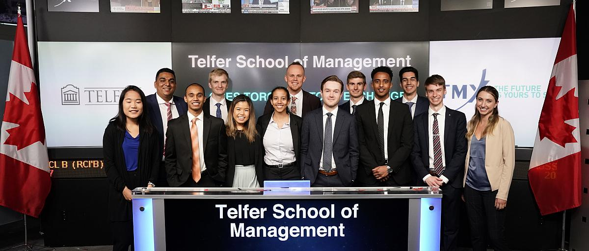 Students at Market Open (TSX)