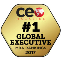 CEO Magazine #1 Global Executive MBA Ranking Badge