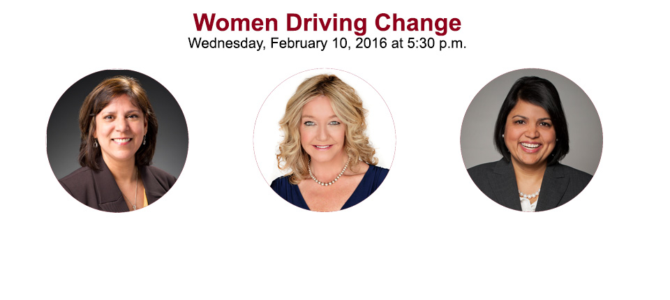 Women Driving Change