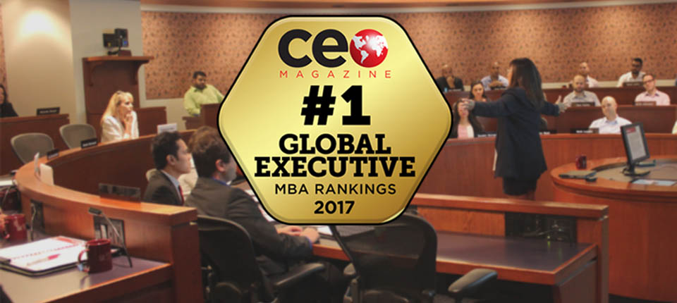 #1 Global Executive MBA