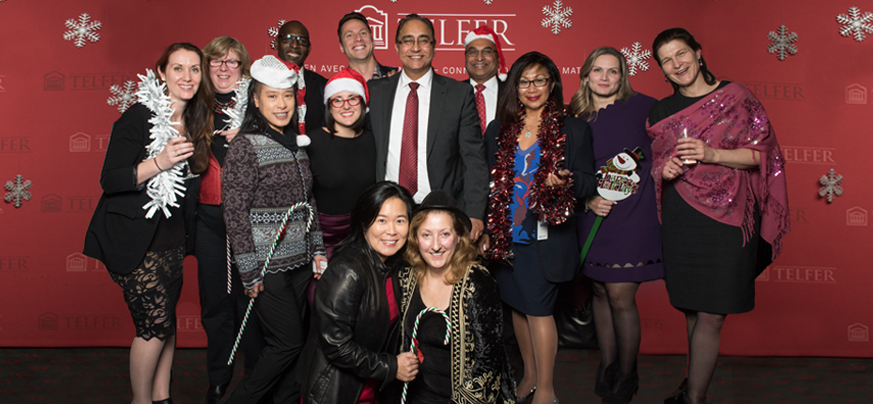 Class of 2014 at 2016 Holiday Party