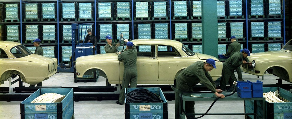 automotive manufacturing plant assembly line