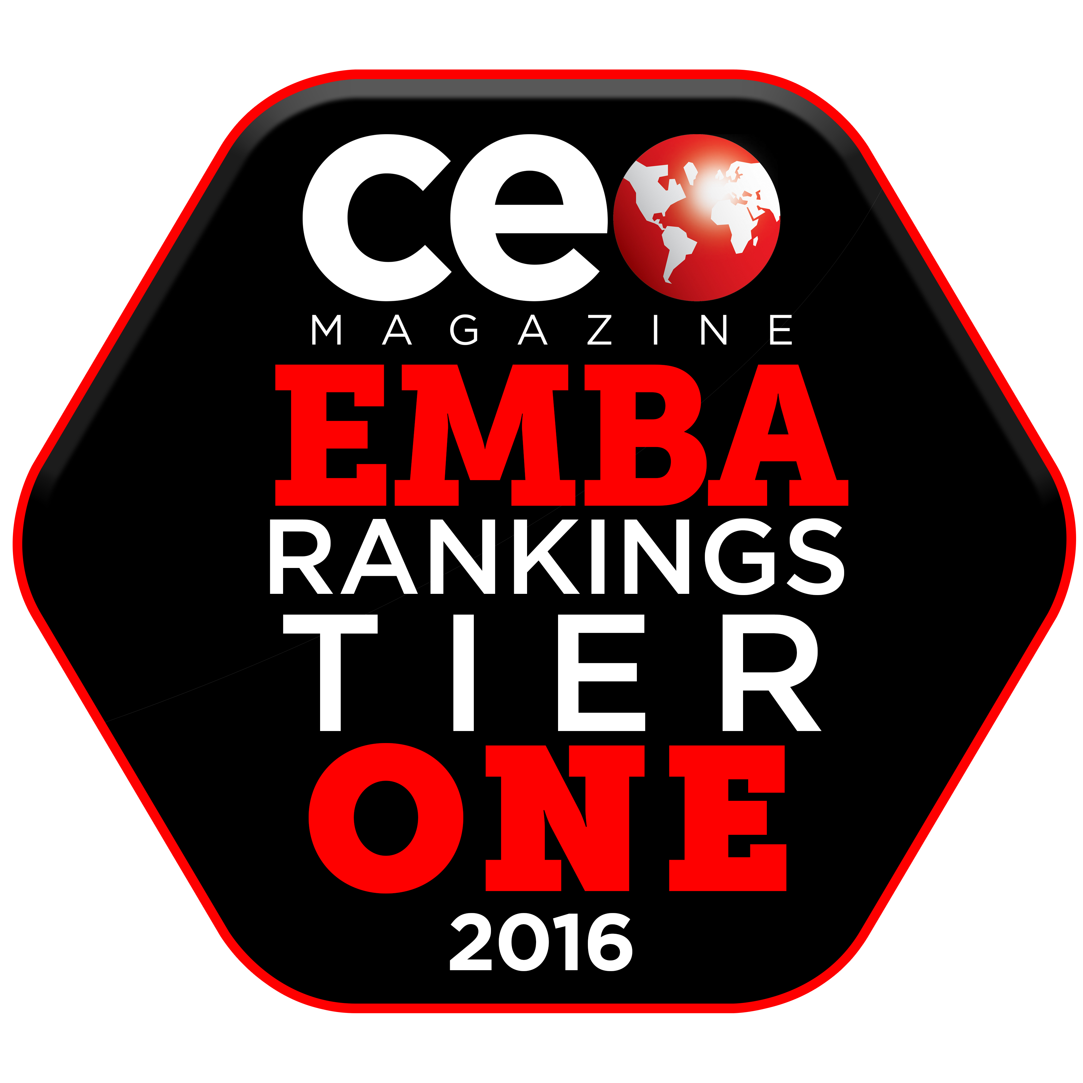 EMBA Rankings Badge