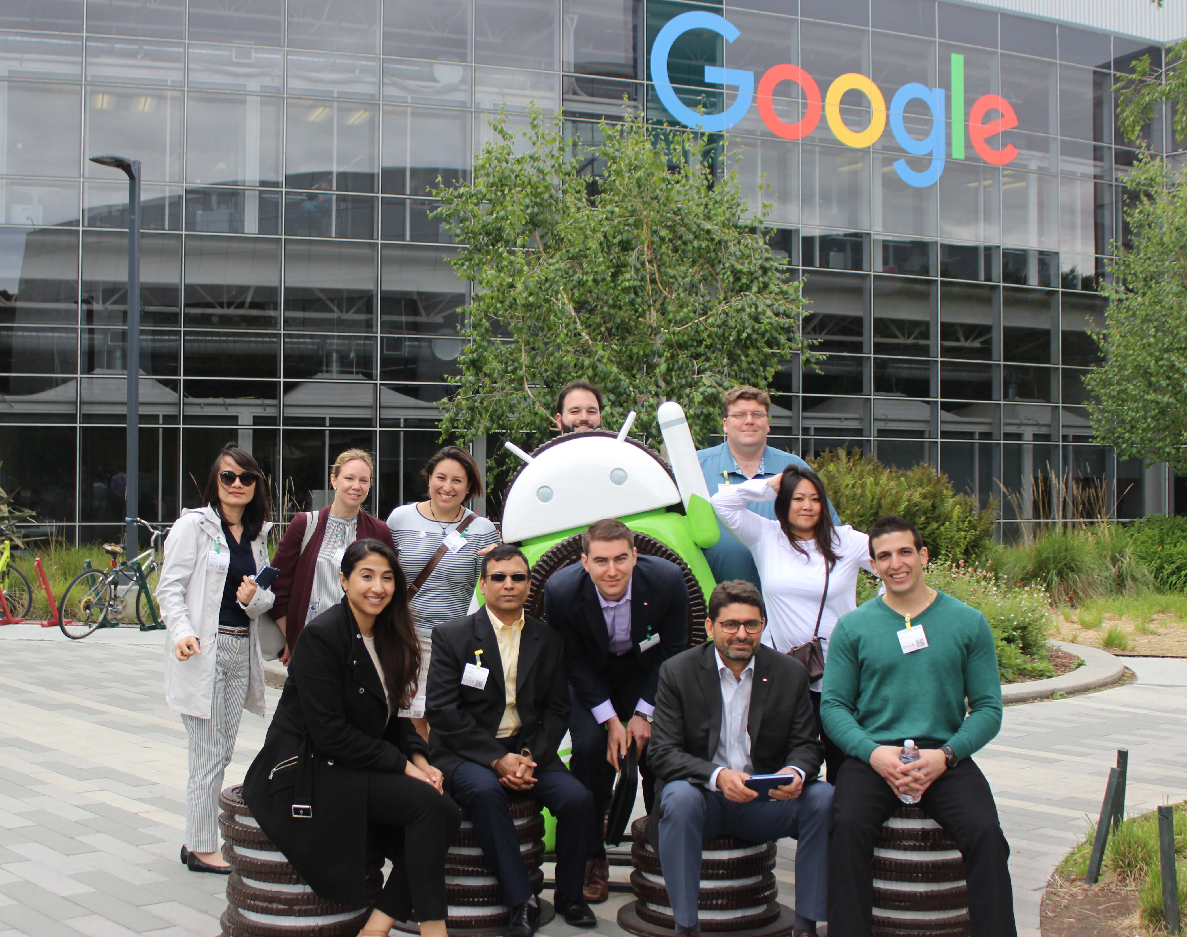 Class of 2019 at Google in May 2018