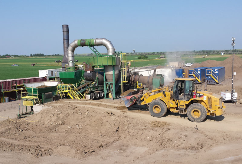 Nelson Environmental Remediation field equipment