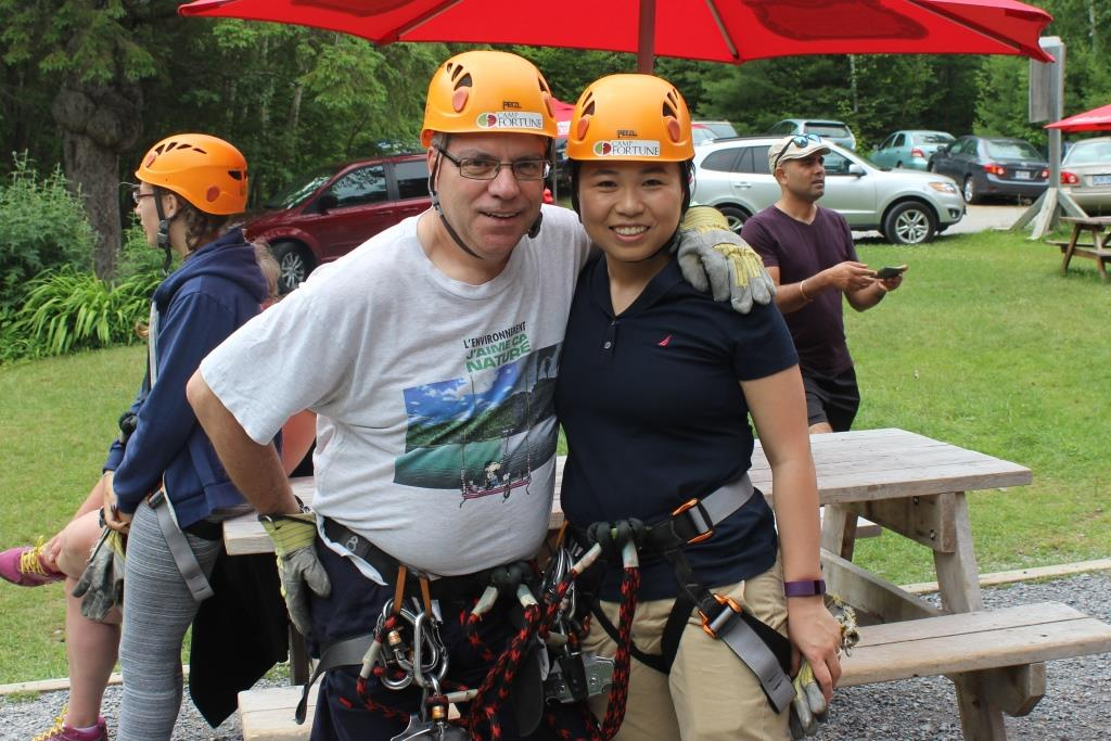Summer in the Park With Telfer Executive MBA at Camp Fortune