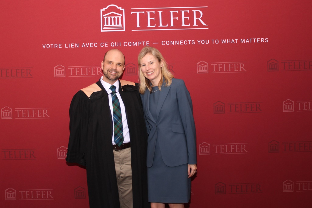 Telfer Executive MBA Class of 2017 Convocation
