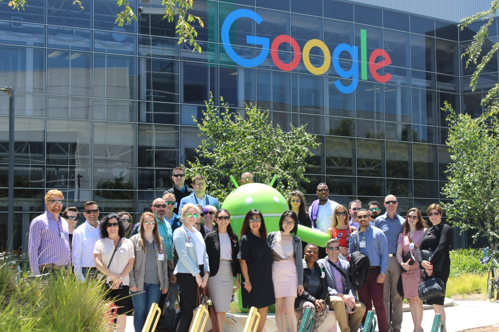 Class of 2018 Silicon Valley trip May 2017