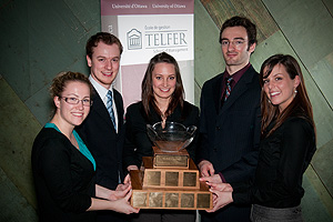 2009 Michel Cloutier Marketing Competition Winners