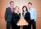 2010 Michel Cloutier Marketing Competition winners