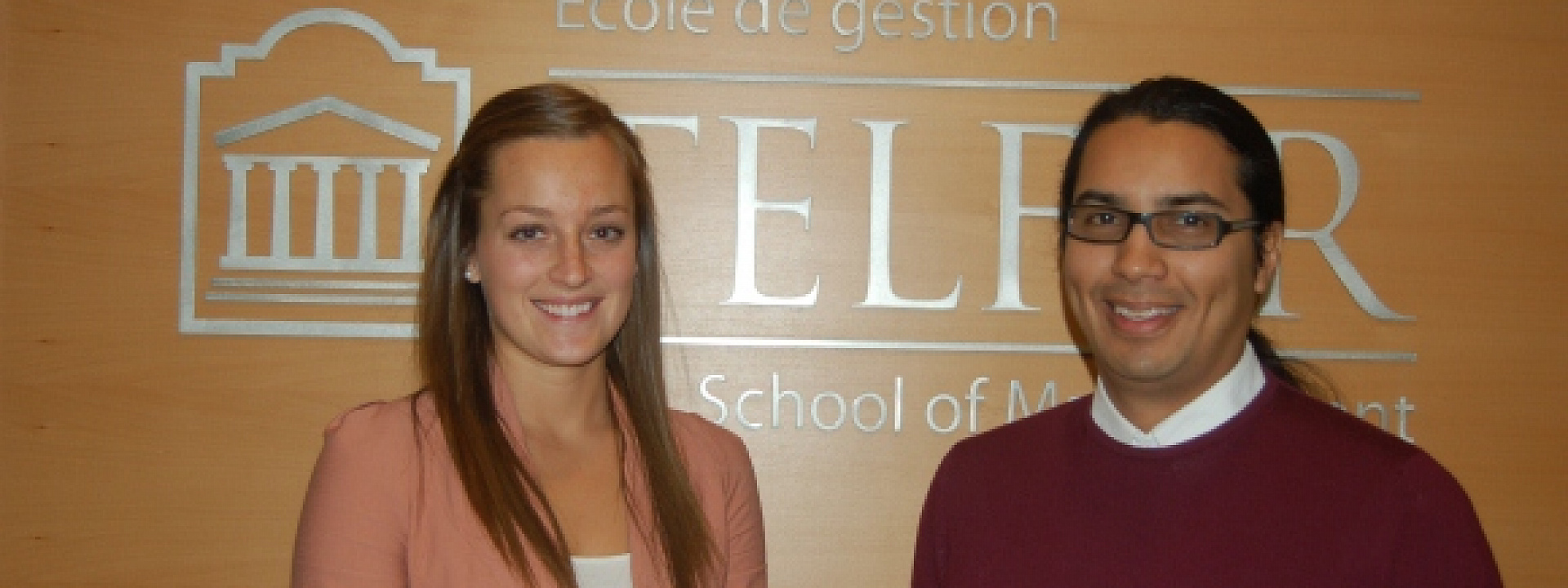 MSc Students Vicki Sabourin and Javier Fiallos Present Highlights of their Health Systems Internships