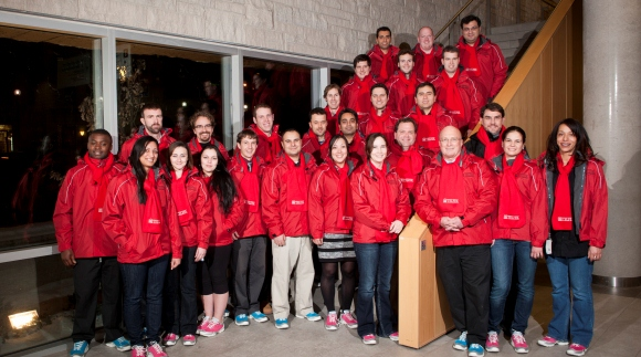 2012 MBA Games team