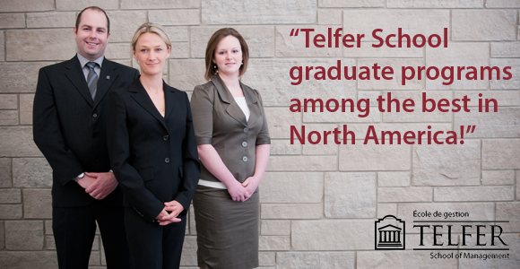Programs from the Telfer School among the best in North America