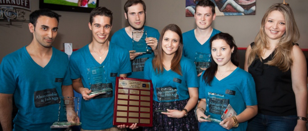 Telfer Students Shine in CGA Ontario Intopia Strategy Simulation