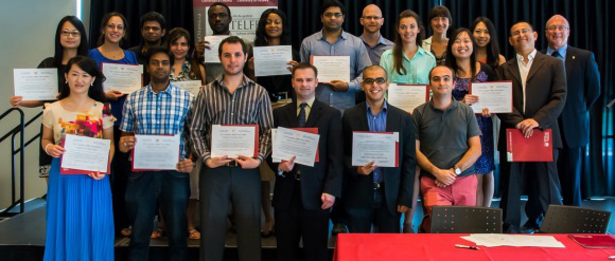 Students Take the Canadian MBA Oath