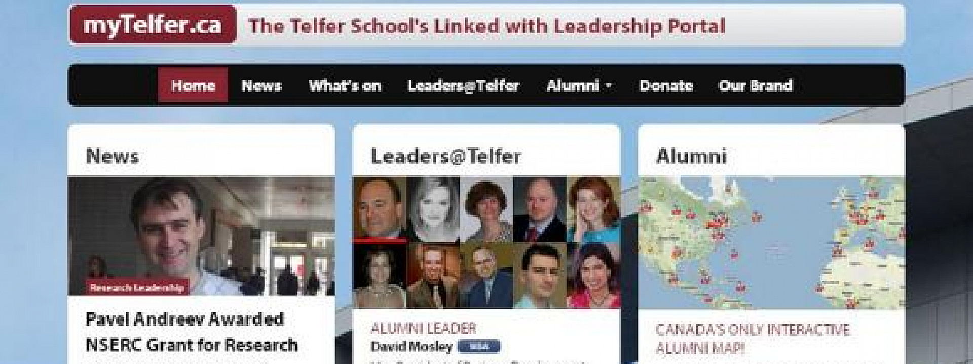 "The ""myTelfer.ca"" Portal is Relaunched"
