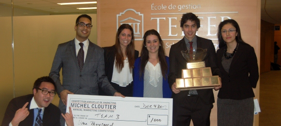 Fall 2012 Michel Cloutier Marketing Competition (28th edition - Fall)