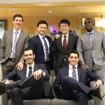 Top from Left: Daniel Shannon, Ethan Zhang, William Tu, Malanga Mposha, and Bottom from Left: Ian Harten, Cassy Aite