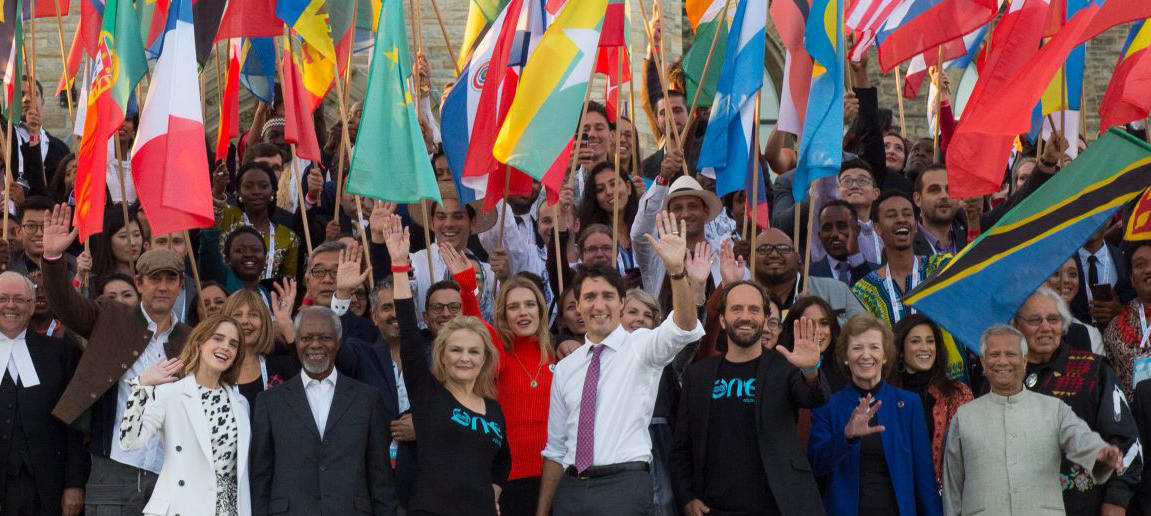 Canadian Prime Minister Justin Trudeau, One Young World, Kofi Annan, Emma Watson