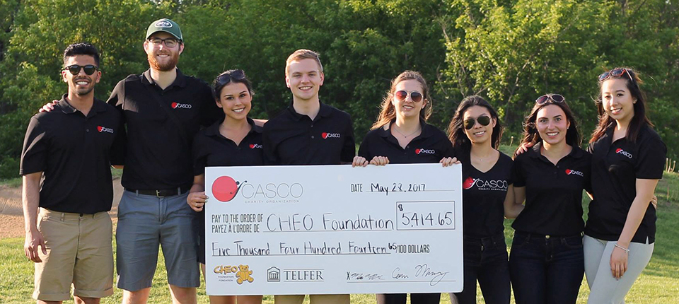 2nd Annual CASCO Golf Tournament Raises $5,414 for CHEO