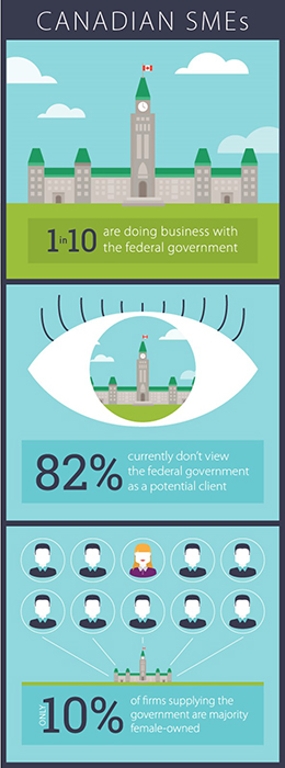 SME procurement infographic