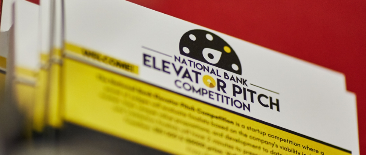 National Bank Elevator Pitch Competition