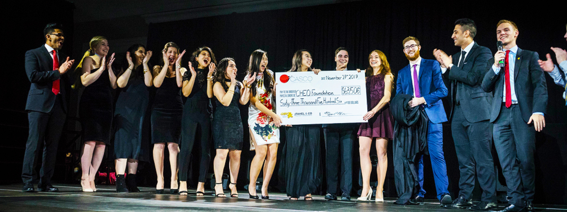 More than $63,000 raised for CHEO at the 18th annual CASCO Gala