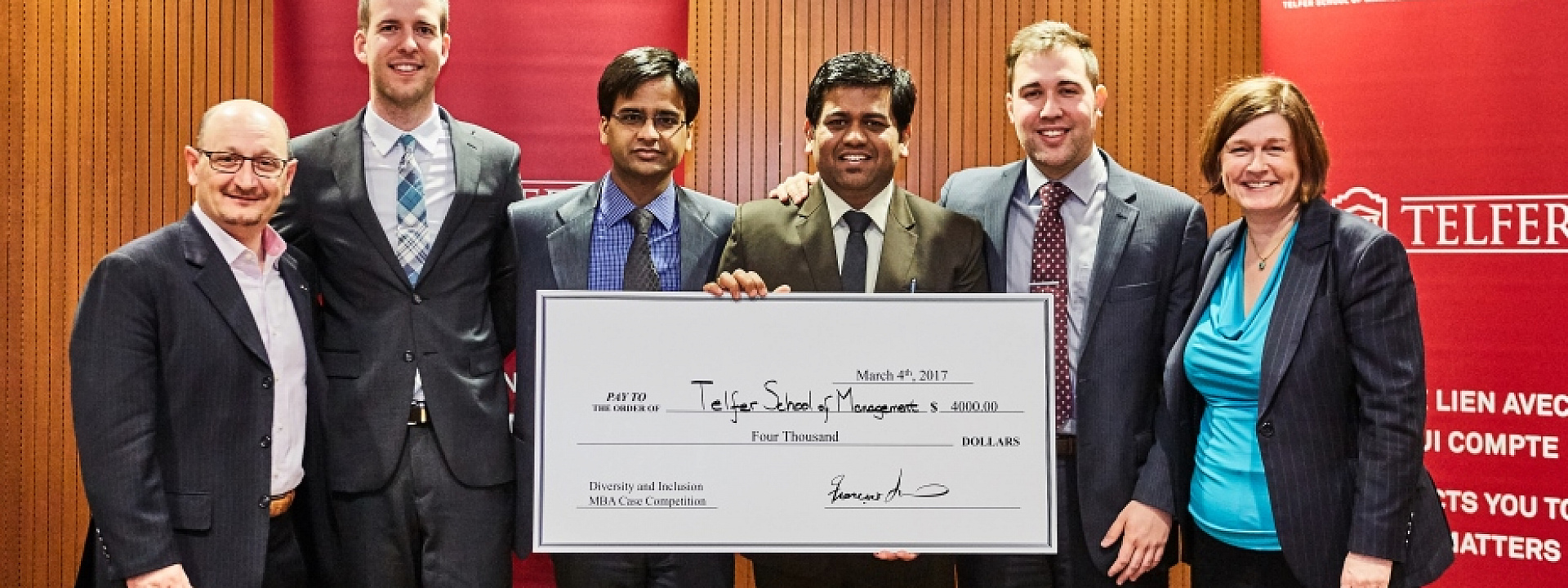 Telfer promotes Diversity and Inclusion during Second Annual Case Competition