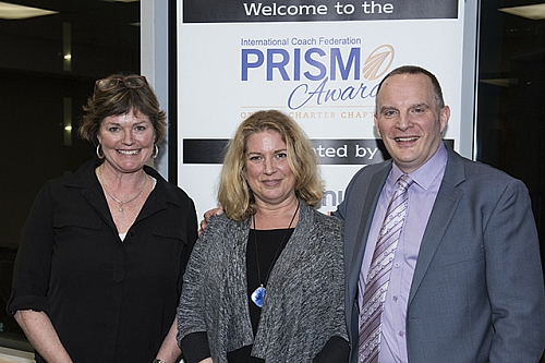 Prism Awards organizing committee - Jennifer MacLeod, Judy Mouland, and Denis Lévesque