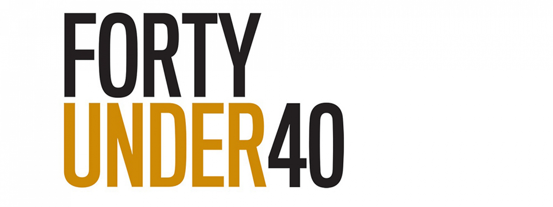 Logo of Forty Under 40