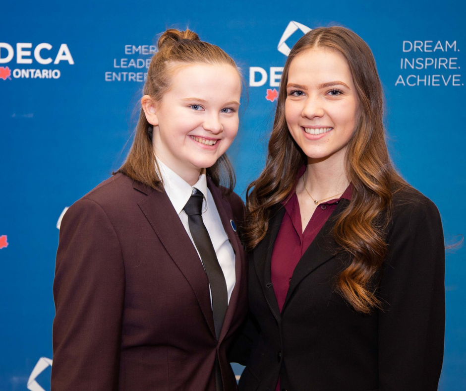 two students from deca uottawa