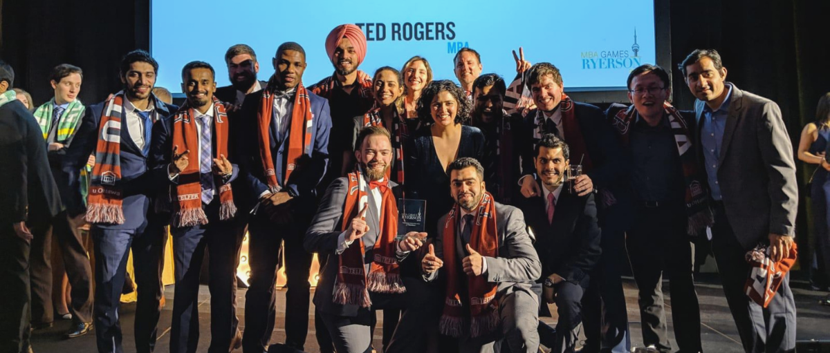 Telfer MBA students win First Place in Innovation and Technology at the 2019 MBA Games