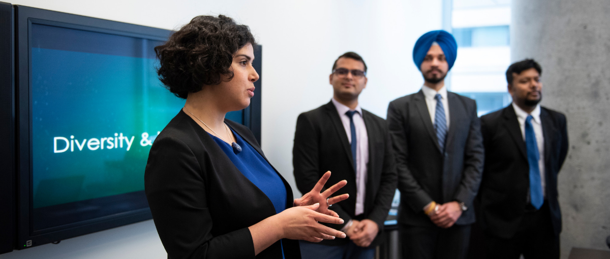 Telfer MBA team finishes in First Place at the Diversity and Inclusion MBA Case Competition 2019