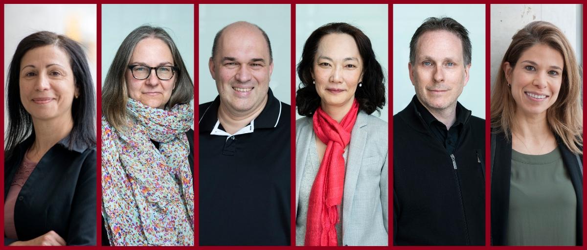Photos of grant recipients