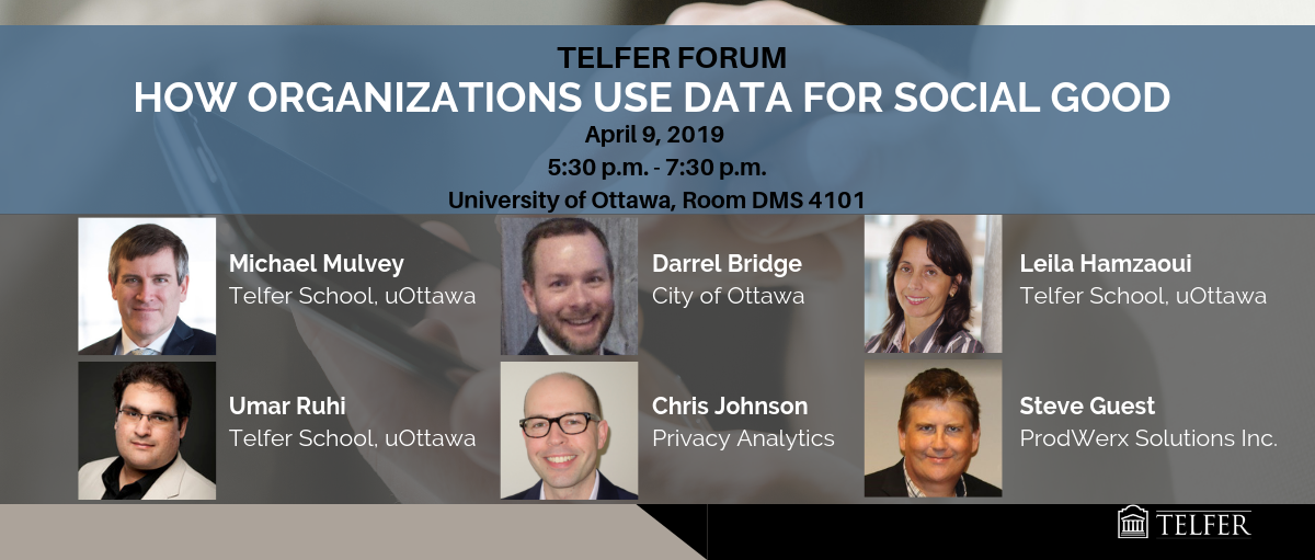 Telfer Forum: How Organizations Use Data for Social Good