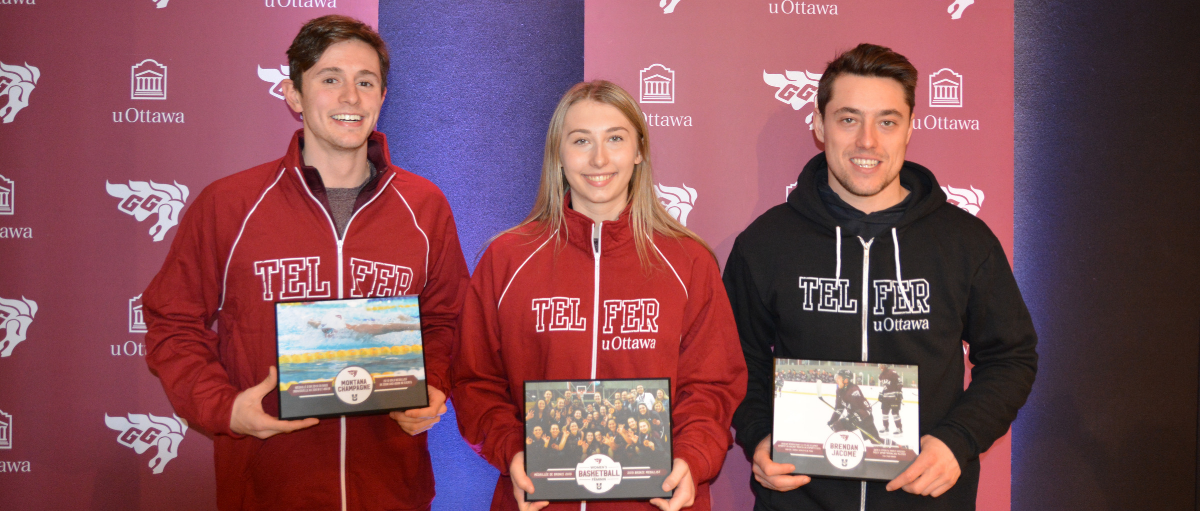 Telfer Gee-Gees Bring Home Five Awards at National Championships