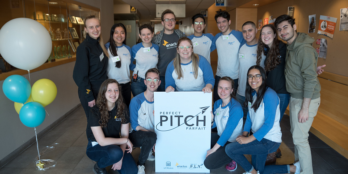 uOttawa Enactus's Project F.L.Y. in The Star