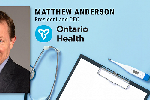 MHA CEO in Residence with Matthew Anderson - Ontario Health