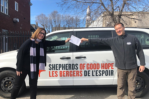 MaxSys makes a generous donation to Shepherds of Good Hope to help the homeless