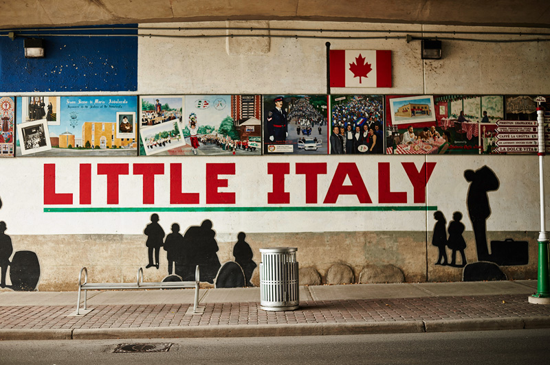 Little Italy at Preston Street in Ottawa