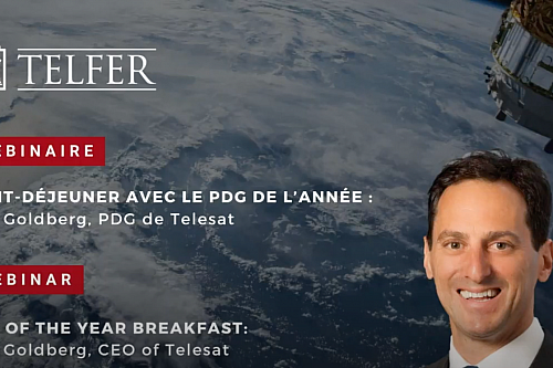 CEO of the Year Breakfast Webinar with Dan Goldberg, CEO of Telesat