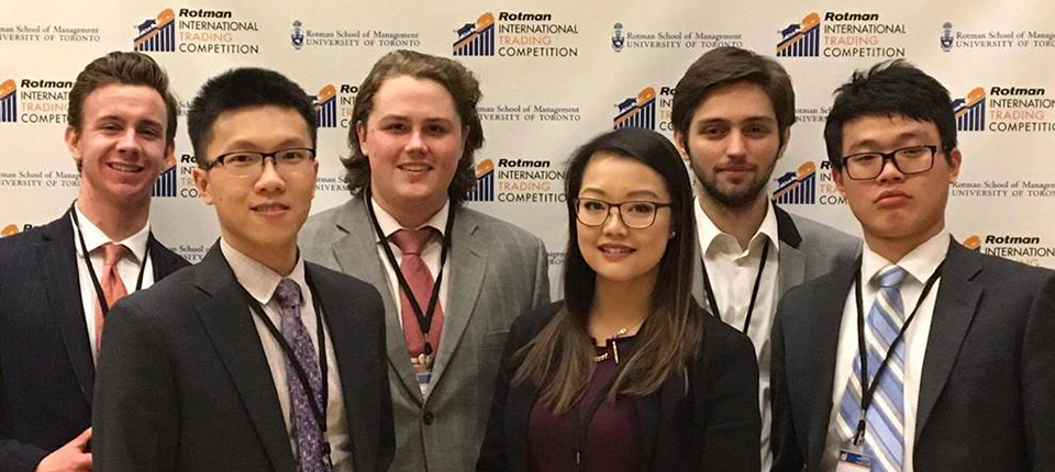 Telfer continues to impress at annual Rotman International Trading Competition