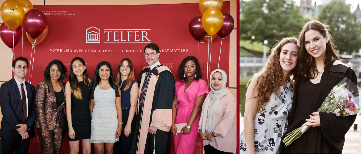 Congratulations Telfer 2019 Graduates!