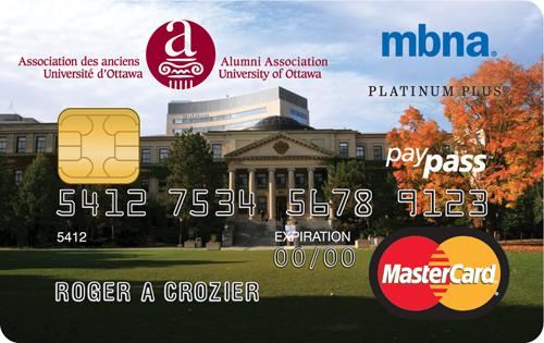 University of Ottawa MBNA Rewards MasterCard