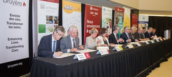 Renewal of the University/Hospital Affiliation Agreement signed