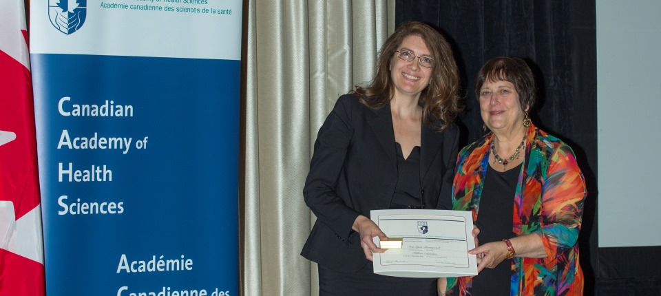 Ivy Lynn Bourgeault inducted into the Canadian Academy of Health Sciences