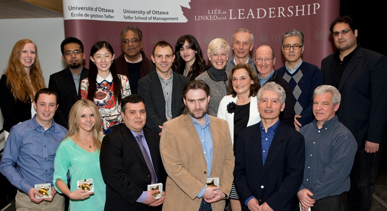 Telfer Research Awards Recipients