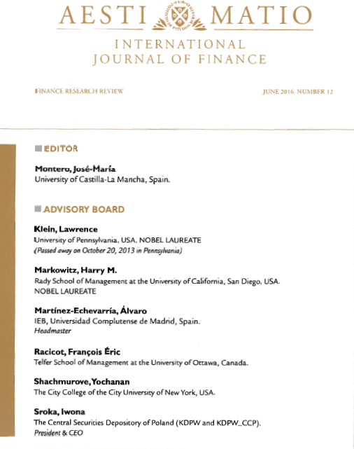 International Journal of Finance
